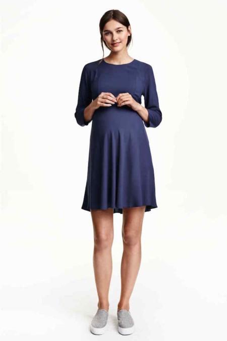Vestido Premama Azul Hym