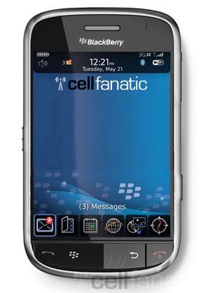 Blackberry Thunder en España antes de Navidad con Vodafone