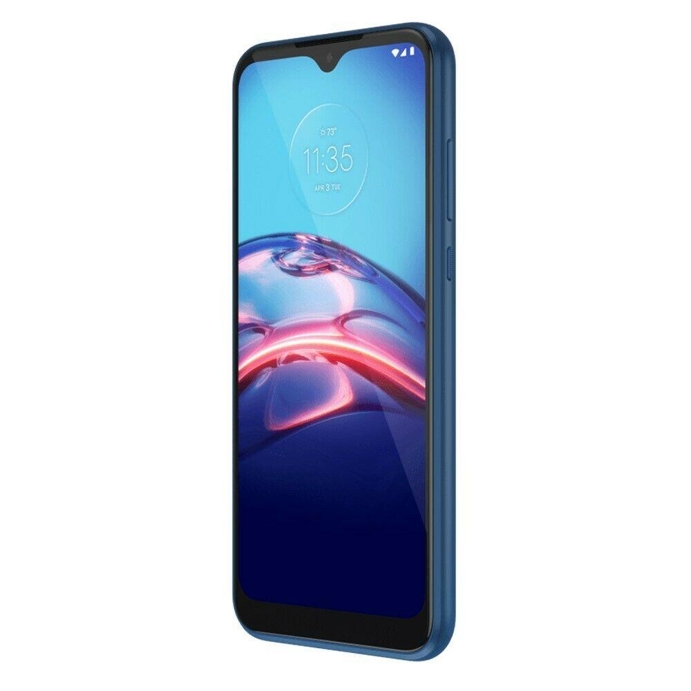Tracfone Motorola Moto e 4G LTE Prepago Smartphone (Bloqueado) – Azul Medianoche – 32 GB