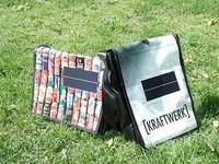 Bolso solar para recargar gadgets