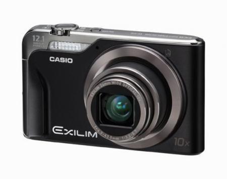 Casio Exilim EX-H10, zoom, resolución y autonomía