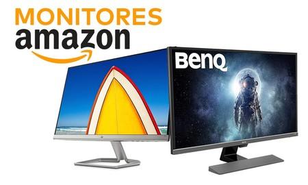 Monitores BenQ para jugar y HP para trabajar rebajados en Amazon para renovar tu equipo informático ahorrando algo de dinero