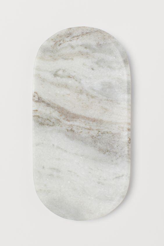 Bandeja de mármol