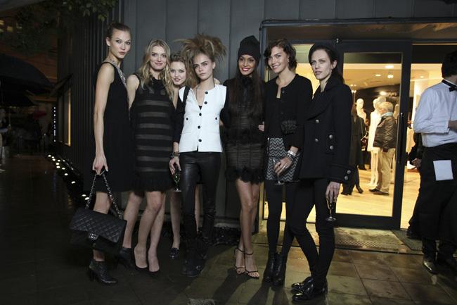 Foto de Las modelos de Chanel de fiesta (10/26)