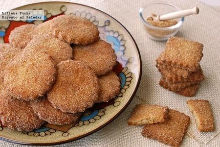 Bizcochitos, galletas de canela y anís. Receta de Nuevo México