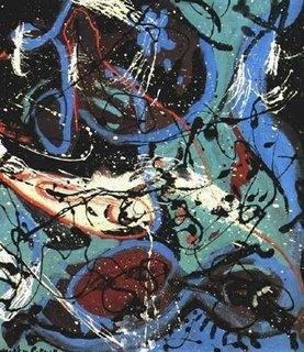 Los fractales en la pintura de Pollock