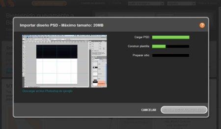 BaseKit: Subiendo una plantilla en PSD