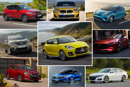 Estos son los 51 autos que llegarán a México en 2018