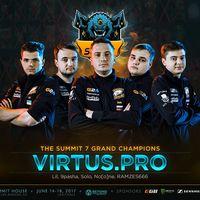 El Virtus Pro Challenge: 80 héroes en 17 partidas y ganan el The Summit 7