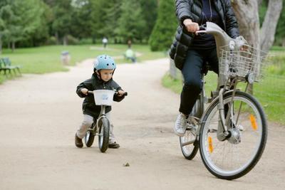Servicio de bicis para niños en París