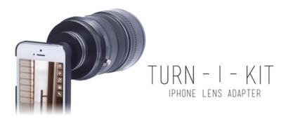 Turn-I-Kit, nueva opción para usar las lentes de tu SLR Nikon o Canon en el iPhone