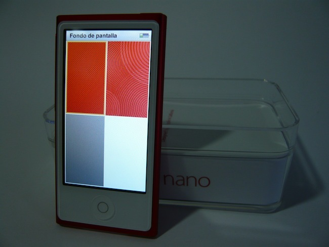iPod nano 2012 fondos