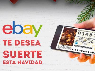 Participaciones para la Lotería de Navidad gratis al comprar en eBay
