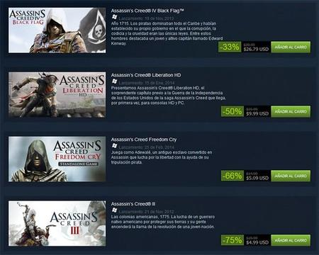 La Saga De Assassins Creed Esta De Oferta En Steam 00