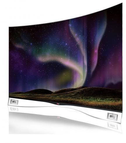 LG trae el primer televisor OLED curvo a México