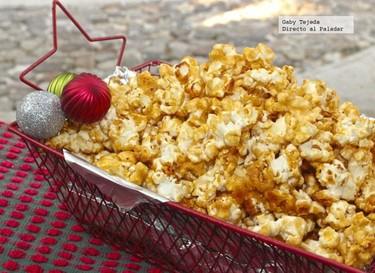 Receta navideña: Palomitas acarameladas