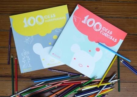 Papel Picado nos presenta las obras Cien Ideas Curiosas y Cien Ideas Monstruosas para desarrollar la creatividad