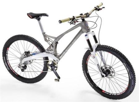 Los marcos de titanio para bicicleta impresos en 3D, todo un reclamo
