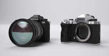 Pentax Mirrorless Camera Mockup 2