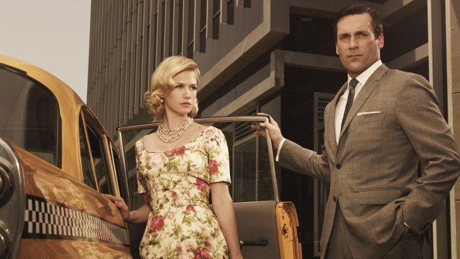 Mad Men: January Jones Jon Hamm emmy 2010
