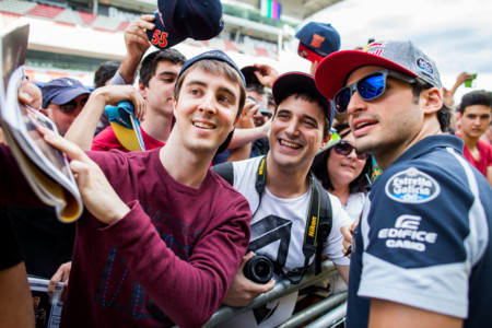 Carlos Fans Gp Espana 2016