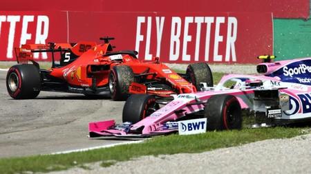 Stroll Vettel Monza F1 2019