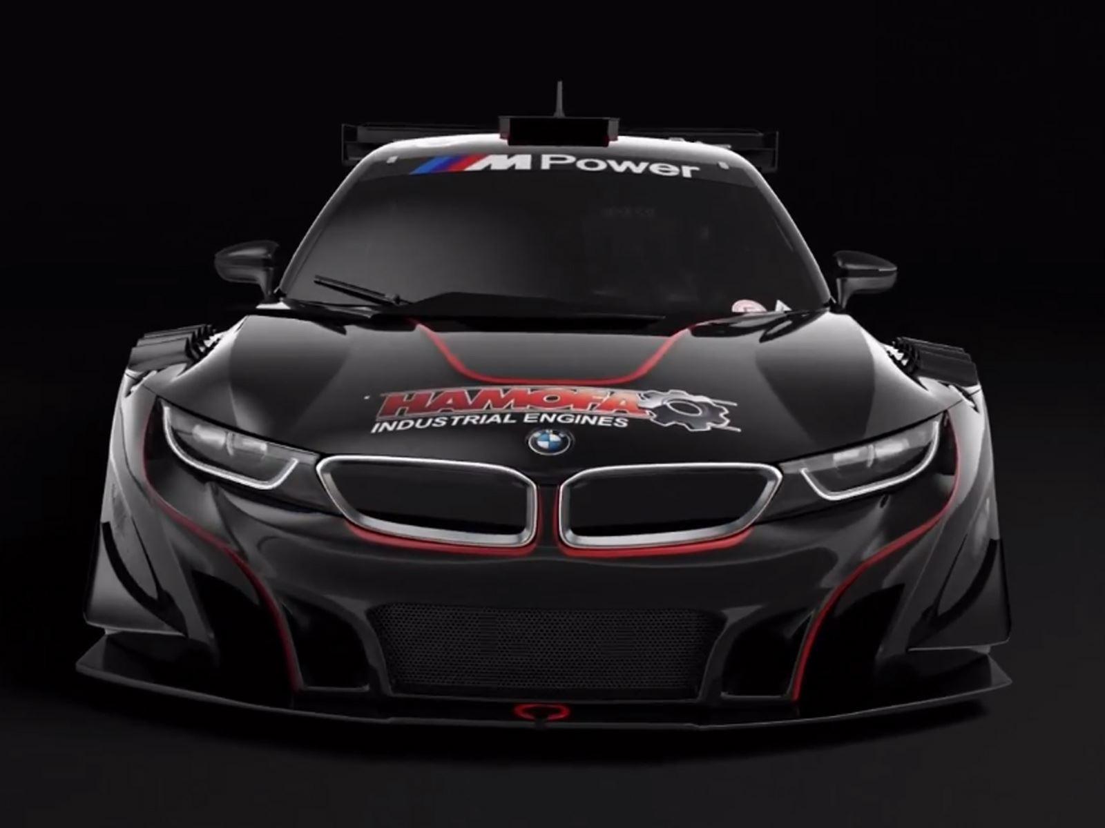 BMW i8 V8 GTR Silhouette