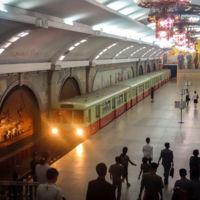 Así luce uno de los lugares más misteriosos del mundo: el metro de Corea del Norte