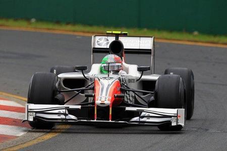 GP Australia F1 2011: Hispania Racing F1 Team utiliza su primer comodín para los toques de queda