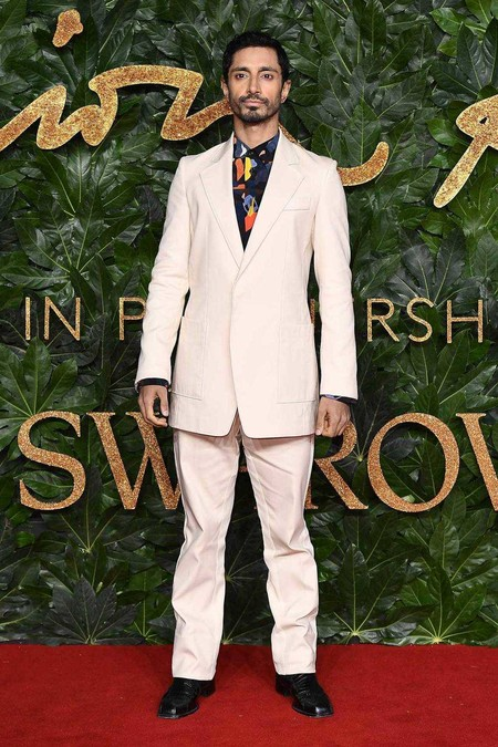 Riz Ahmed Alfombra Roja Red Carpet British Fashion Awards 2018