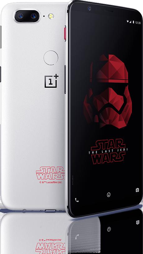 OnePlus 5T tendrá una espectacular edición especial de Star Wars: Los últimos Jedi