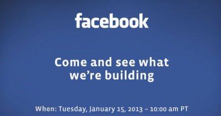 Facebook convoca una misteriosa rueda de prensa el 15 de enero, ¿qué presentarán?