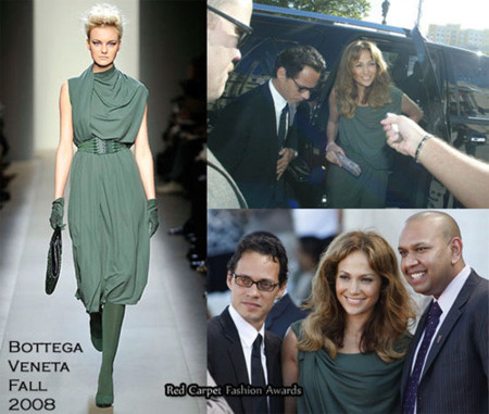 Jennifer Lopez de Bottega Veneta