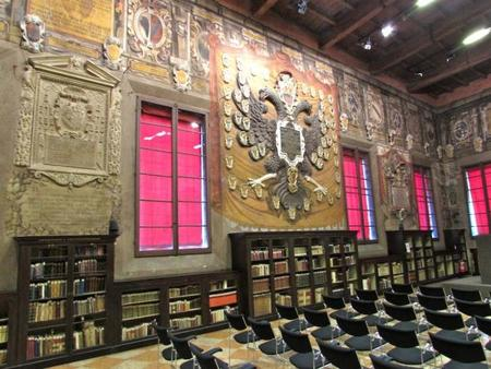 Aula Mater Archiginnasio Bolonia