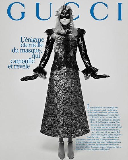 Gucci Vuelve A La Era Glam De Las Revistas De Los Sesentas En Su Campana De Invierno