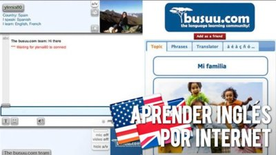 Aprender inglés por Internet: Busuu