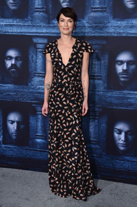 juego de tronos estilismo look alfombra roja actrices Lena Headey