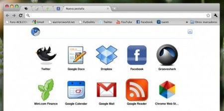 Web Apps en Chromium