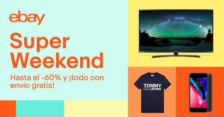 Llegan refuerzos al Super Weekend de eBay: 14 nuevas ofertas con envío gratis