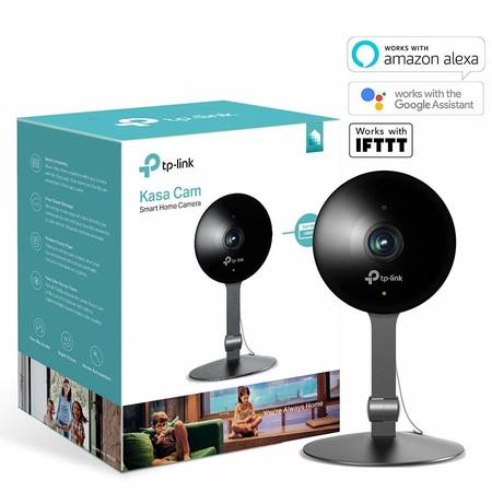 Kasa Cam, la cámara de vigilancia de TP-Link compatible con Alexa, a su precio más bajo en Amazon: 69,99 euros