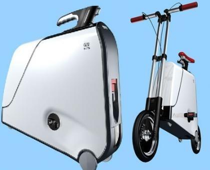 Bicicleta en una maleta