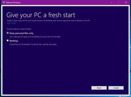Windows Fresh
