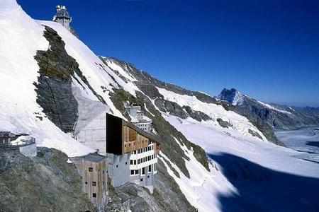 Jungfrau, la estación de trenes más alta de Europa