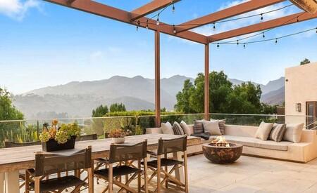Casa En Malibu De Chris Hemsworth Y Elsa Pataky Porche Con Terraza
