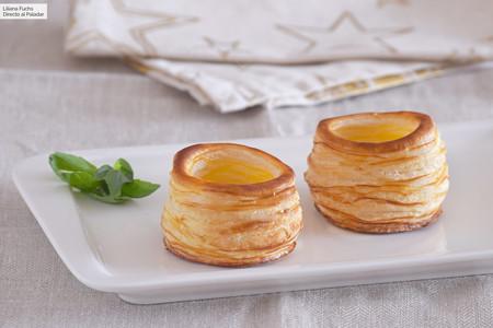 Cómo hacer volovanes caseros de hojaldre: idea fácil para lucirte en el aperitivo de estas fiestas