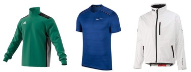 Ofertas en tallas sueltas de ropa deportiva en marcas como Fila, Adidas, Nike o Helly Hansen en Amazon