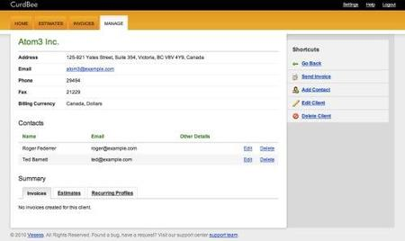 Curdbee, facturación online perfecta para pequeñas empresas