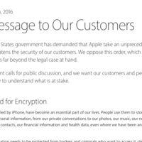 """Apple planta cara al FBI: habla de """"una medida sin precedentes que amenaza la seguridad de nuestros clientes"""""""