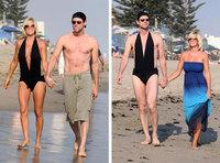 Jim Carrey comparte bañador con su mujer
