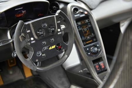 McLaren P1 LM interior